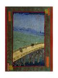 Bridge in the Rain (After Hiroshig), 1887 Giclee Print by Vincent van Gogh
