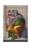 The Sibyl of Delphi Giclee Print by  Michelangelo Buonarroti