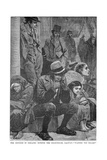 The Distress in Ireland: Outside the Courthouse, Galway - Waiting for Relief, 19th Century Giclee Print
