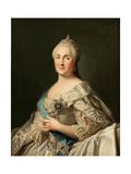 Portrait of Empress Catherine II (1729-179), C. 1780 Giclee Print by Vigilius Erichsen