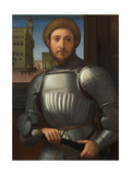 Portrait of a Man in Armour, C. 1510 Giclee Print by Francesco Granacci