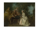 The Four Times of Day: Afternoon, C. 1740 Giclee Print by Nicolas Lancret