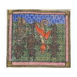 Apocalypse, Detail: Demons Falling from Heaven, Ca 1370-1375 Giclee Print