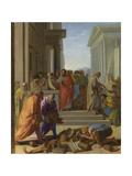 Saint Paul Preaching at Ephesus, 1649 Giclee Print by Eustache Le Sueur