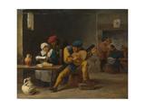Peasants Making Music in an Inn, C. 1635 Giclee Print
