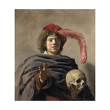 Young Man Holding a Skull (Vanita), 1627 Giclee Print
