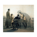 At the Piano, 1855 Giclee Print by Vasily Timm