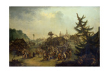 Peasants Merry-Making, 1779 Giclee Print by Ivan Michailovich Tankov