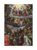 The Coronation of the Virgin, C. 1598 Giclee Print by Johann Rottenhammer