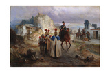 The Captive French Men in 1814, 1885 Giclee Print by Gottfried Willewalde