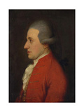 Portrait of the Composer Wolfgang Amadeus Mozart (Hagenauer Mozar), 1780S Giclee Print