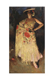 A Dancer, 1903 Giclee Print by Sergei Arsenyevich Vinogradov
