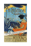 Jeweller A. Calderoni (A. Calderoni Gioiellier), Milano, 1898 Giclee Print by Adolfo Hohenstein