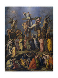 The Descent from the Cross, C. 1560 Giclee Print by Alessandro Allori