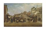 View of Nizhny Novgorod, 1867 Giclée-Druck von Pyotr Petrovich Vereshchagin