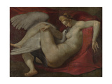 Leda and the Swan, after 1530 Giclee Print by  Michelangelo Buonarroti