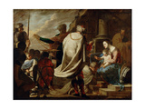 Adoration of the Magi, C. 1640 Giclee Print by Bernardo Cavallino
