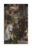 The Consecration of Saint Nicholas, 1562 Giclee Print by Paolo Veronese