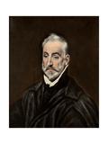 Portrait of Antonio De Covarrubias Y Leiva Giclee Print by  El Greco