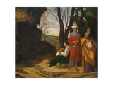 Three Philosophers, 1508-1509 Giclee Print by  Giorgione