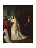 After the Marriage, 1874 Giclee Print by Firs Sergeevich Zhuravlev
