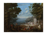 Women's Festival on the Bosphorus, 1737 Giclee Print by Jean-Baptiste Vanmour