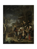 The Quack, 1652 Giclee Print by Gerard Dou