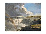 Niagara Falls from Table Rock, 1835 Giclee Print by Samuel Finley Breese Morse