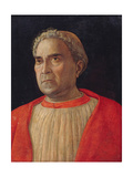 Cardinal Lodovico Trevisano, Ca 1459 Giclee Print by Andrea Mantegna