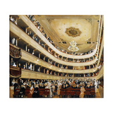 Auditorium in the Old Burgtheater, Vienna, 1888 Giclee Print by Gustav Klimt
