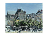 Saint-Germain L'Auxerrois, 1867 Giclee Print by Claude Monet