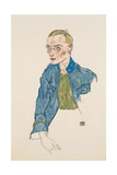 One-Year Volunteer Lance-Corporal, 1916 Giclee Print by Egon Schiele