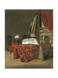 Corner of a Library, 1711 Giclee Print by Jan Van Der Heyden