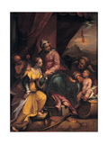 The Mystical Marriage of Saint Catherine, 1590 Giclee Print by Denys Calvaert