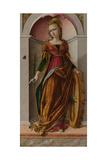 Saint Catherine of Alexandria, C. 1492 Giclee Print by Carlo Crivelli