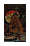 Girl with Japanese Parasol, Ca 1899 Giclee Print by Willem de Zwart