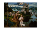 The Baptism of Christ, Ca 1515 Giclee Print by Joachim Patinir