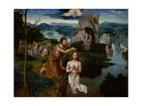 The Baptism of Christ, Ca 1515 Giclee Print by Joachim Patinir