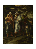 The Walk to Emmaus, C. 1570 Giclee Print by Lelio Orsi