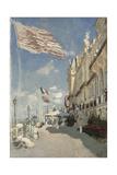 Hôtel Des Roches Noires. Trouville, 1870 Giclee Print by Claude Monet