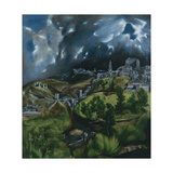 View of Toledo, C. 1598 Giclee Print by  El Greco