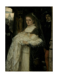 Christening Procession in Lausanne, 1873 Giclee Print by Matthijs Maris