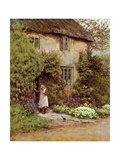 The Cottage Door, 1899 Giclee Print by Helen Paterson Allingham