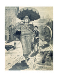 Churila Plyonkovich, 1895 Giclee Print by Andrei Petrovich Ryabushkin
