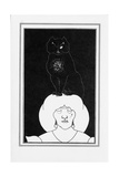 Illustration for the Story the Black Cat by Edgar Allan Poe, 1894-1895 Giclee Print by Aubrey Beardsley