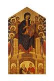 Maesta of Santa Trinita, C. 1280 Giclée-tryk af Giovanni Cimabue