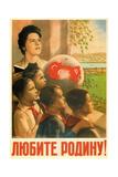 Love the Motherland!, 1949-1950 Giclee Print by Viktor Borisovich Koretsky