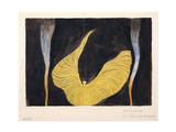 Loïe Fuller in the Dance the Archangel, 1902 Giclée-Druck von Koloman Moser