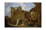 The Temptation of Saint Anthony Giclee Print by David Teniers the Younger