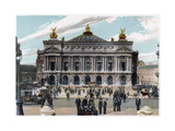 The Palais Garnier, Paris, C1900 Giclee Print